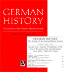 German History special issue