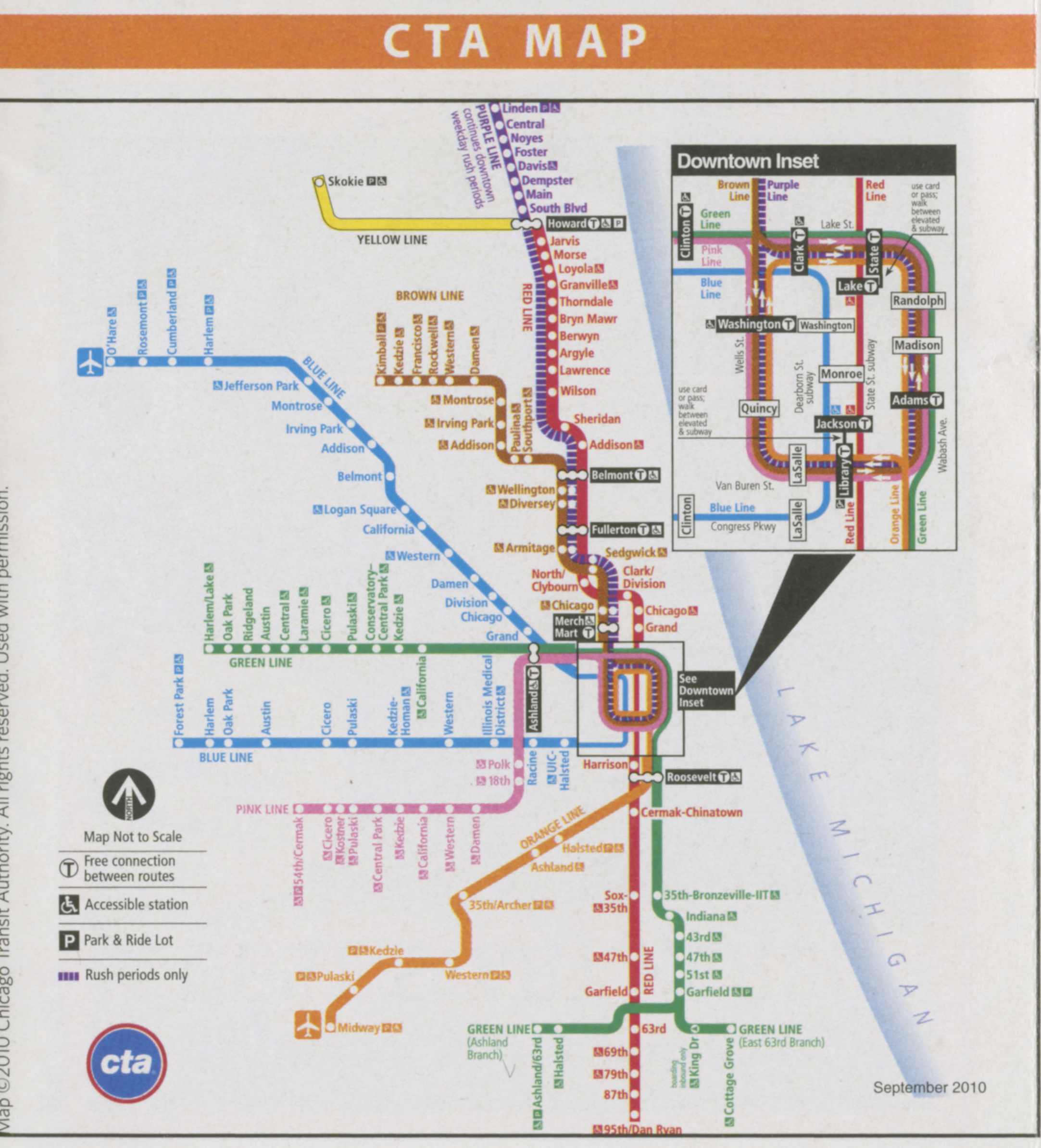 Chicago Bus Trip  Purdue College Of Liberal Arts - Chicago metro map pdf