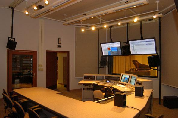Audio production studio