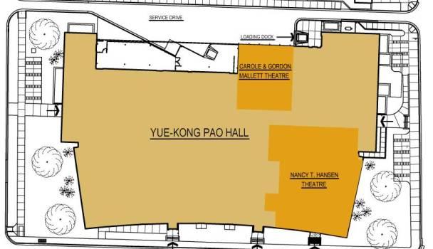 Pao Hall floor plan