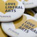 Love Liberal Arts Buttons
