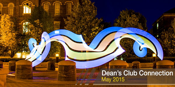 Dean's Club Connection May 2015