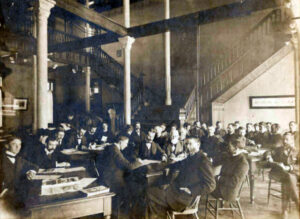 Purdue faculty meeting 1899