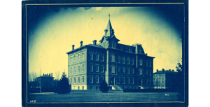 University Hall from 1890s
